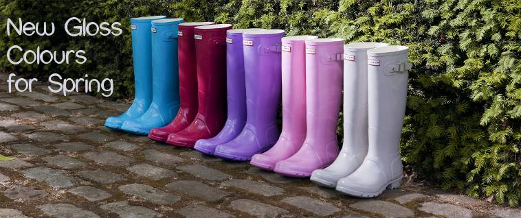 Gloss Wellies