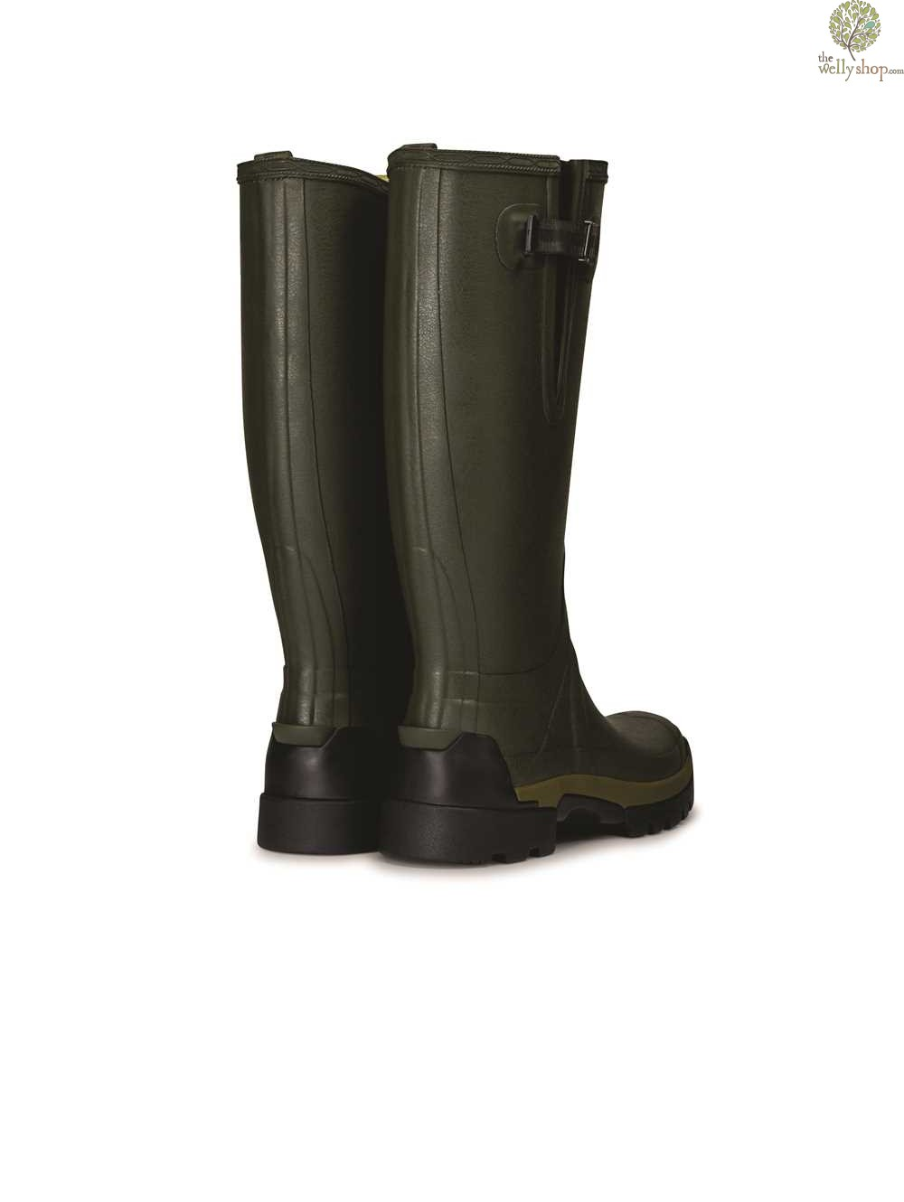 ... Hunter Men's Balmoral Bamboo Carbon Boots Dark Olive ...