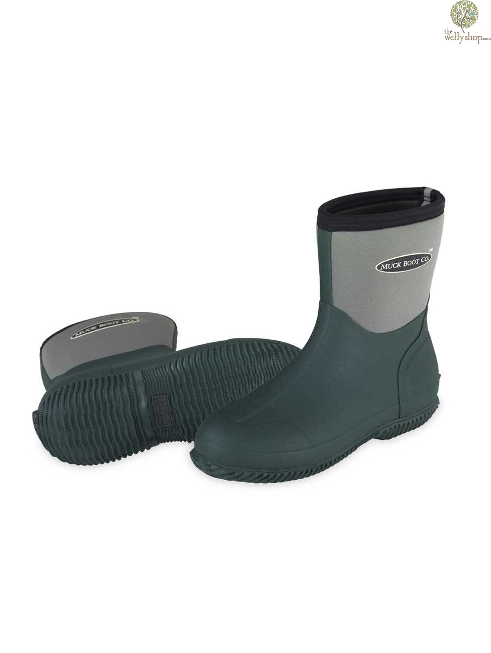 Muck Boot Ribble Shorty Neoprene Wellington Boots | Muck Boots | Brand