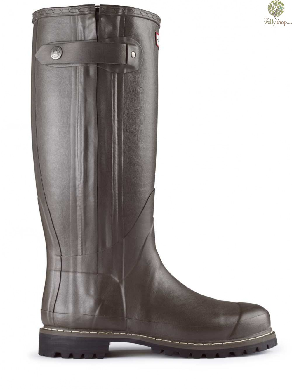 balmoral sovereign rubber boots with leather lining