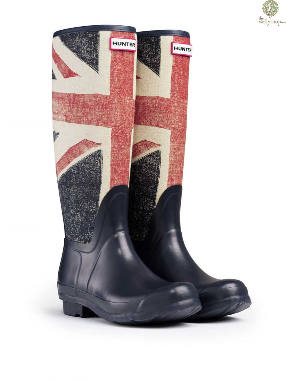 Hunter Original Brit Flag Union Flag Wellingtons