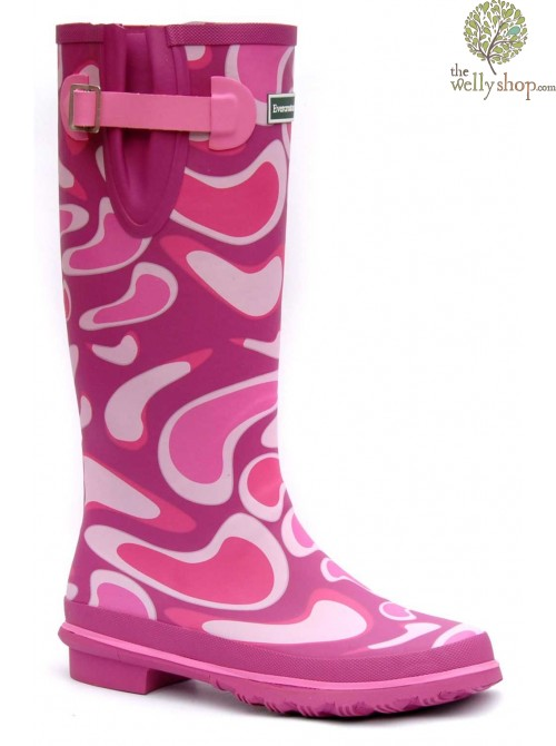 Evercreatures Cool Pink Wellies