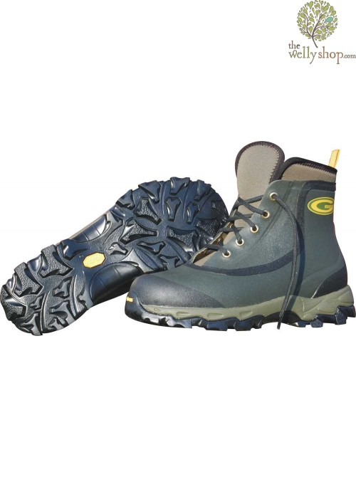Grubs Ptarmigan Neoprene Vibram Boot Moss Green
