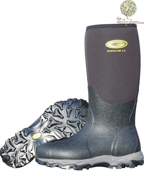 Grubs Snowline 8.5mm Neoprene Wellies - Comfort to -40 Celsius