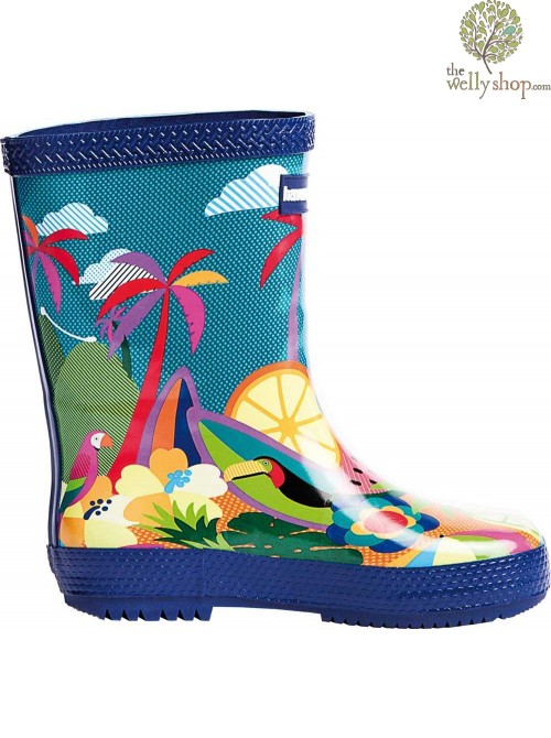 HAVAIANAS KIDS BOOTS SUMMER PRINT (AVAILABLE IN UK SIZES EU25 - EU35)