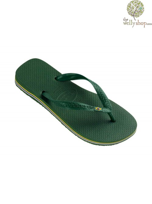 HAVAIANAS BRASIL FLIP FLOPS (AVAILABLE IN UK SIZES EU39/40 - EU45/46)