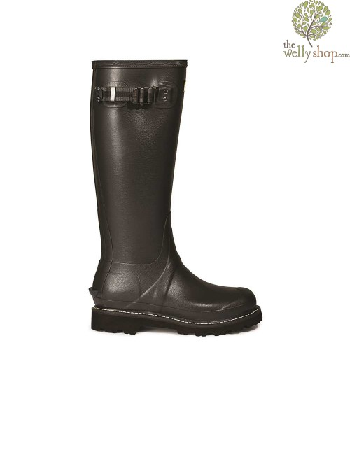 Hunter Women's Balmoral Poly-Lined Dark Slate Wellington Boots
