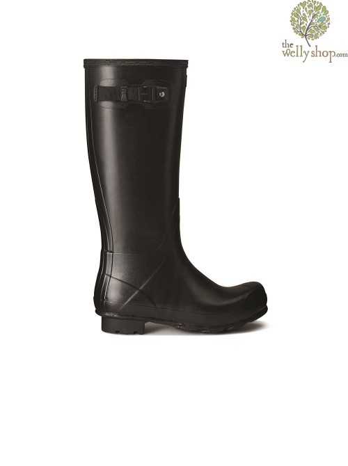 Hunter Mens Norris Field Black Wellington Boots