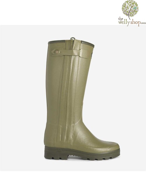 Le Chameau Chasseur Neo - Neoprene Lined Boots Full Length Zip 3mm Insulated Warm Neoprene Lining