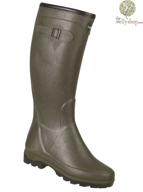 Le Chameau Lady All Track Country Neo - Ladies Neoprene Lined Wellington Boots