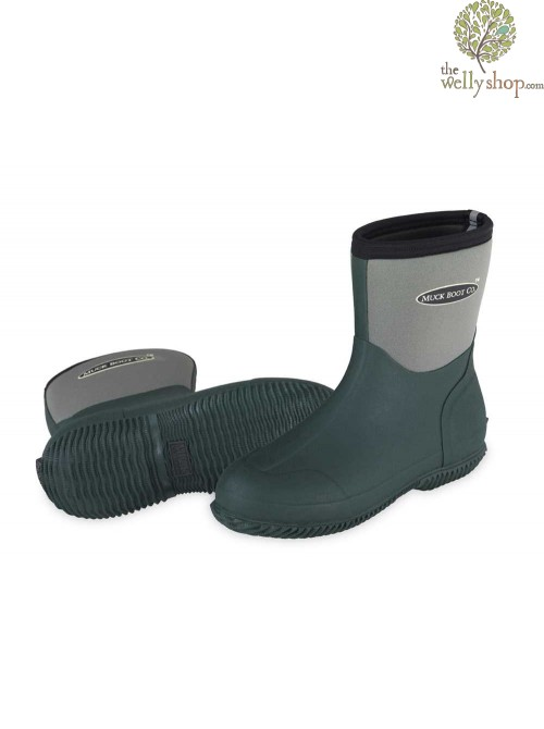 Muck Boot Ribble Shorty Neoprene Wellington Boots