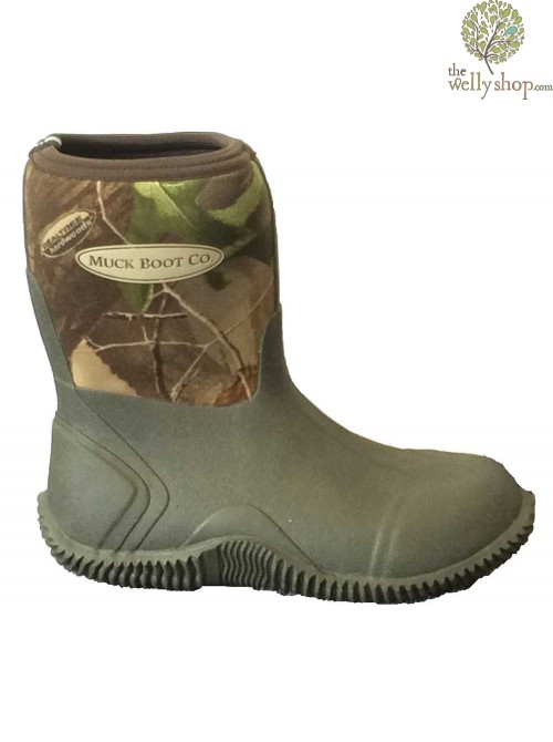 Muck Boot Muddies Camo Neoprene Wellington Boots