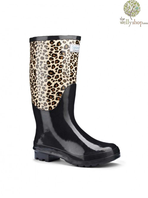 Miss Wild Splash Wellies (wide fit)