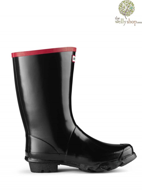 Hunter Argyll Short Knee Wide Calf Rubber Boots