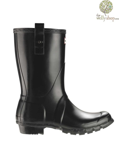 Hunter Original Short Mens Classic Wellington Boots