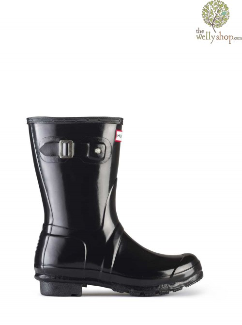 Hunter Original Short Gloss Wellington Boots