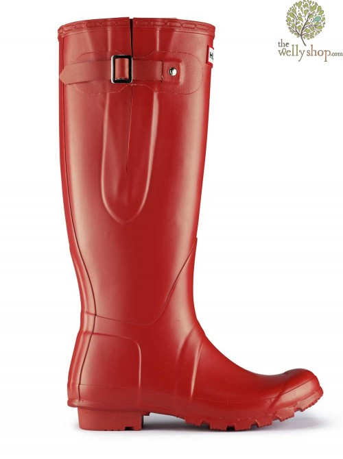 Hunter Original Tall Adjustable Calf Wellington Boots - Side Adjustable