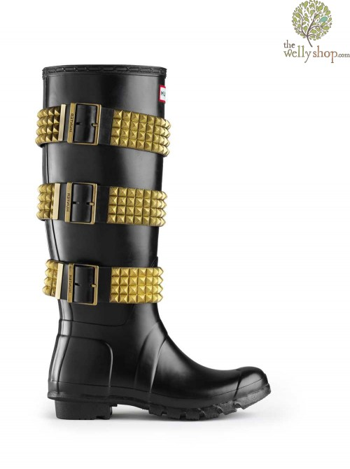 Hunter Original Tall Festival Stud - Black and Gold - limited edition