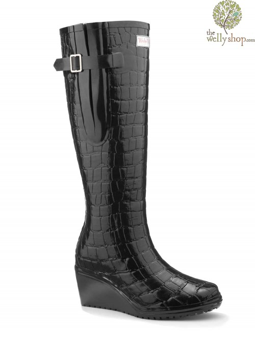 Wedge Welly Man Eater Flex (wide calf)