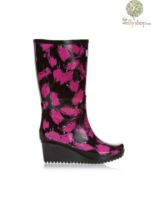Wedge Welly SAVVY (wide calf)