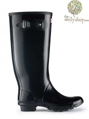 Hunter Huntress Tall Original Wide Calf Wellington Boots