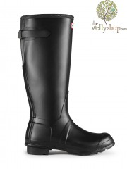 Hunter Original Tall Adjustable Calf Wellington Boots - Rear (Back) Adjustable