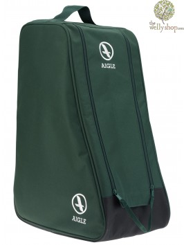 Aigle Adult Wellington Boot Bag Green