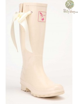 EVERCREATURES WEDDING RIBBON WELLINGTON BOOTS