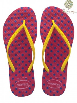 HAVAIANAS SLIM FRESH FLIP FLOPS (AVAILABLE IN UK SIZES EU35/36 - EU39/40)