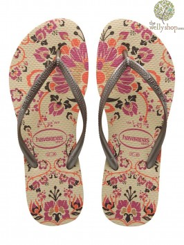 HAVAIANAS SLIM PARADISO FLIP FLOPS (AVAILABLE IN UK SIZES EU35/36 - EU39/40)