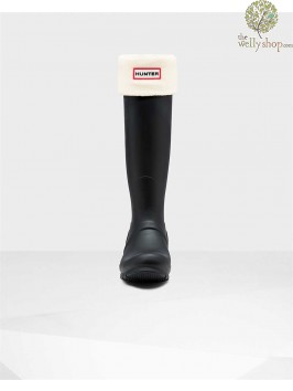 Hunter Welly Warmer Cream Socks