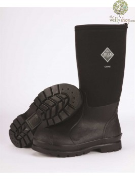 Muck Boot Chore Hi Black Neoprene Boot (previously Derwent)