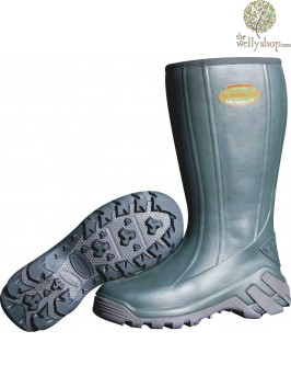 Superlite Farm High - Moss Green Wellies