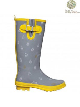 SOLEM8 Raindrop Rapture Wellington Boots