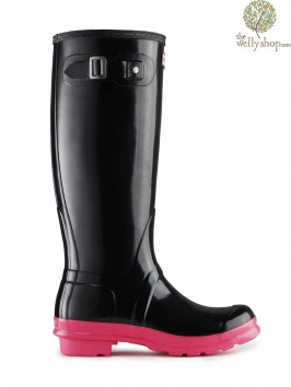 Hunter Original Tall Festival Fluoroscent Wellies