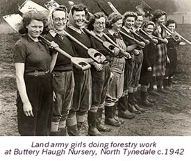 Bellingham Land Girls