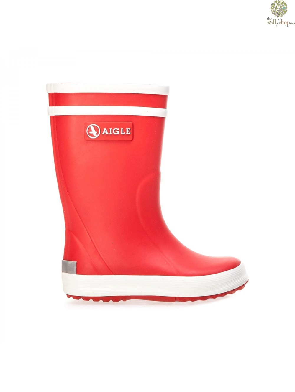 Aigle Lollypop Childrens Wellies Red