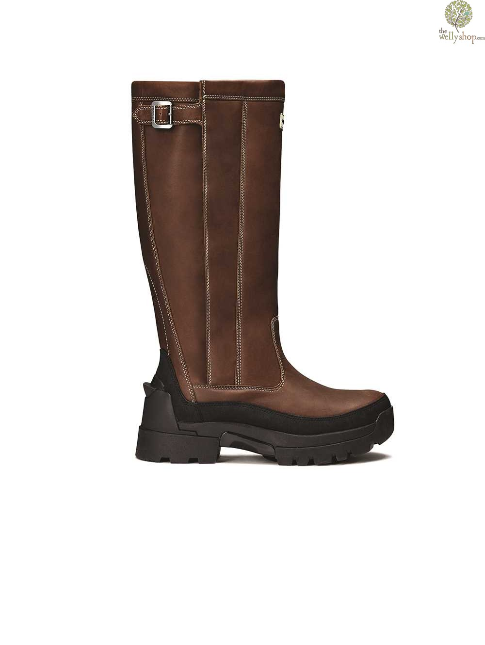 Hunter Men S Balmoral Leather Boots