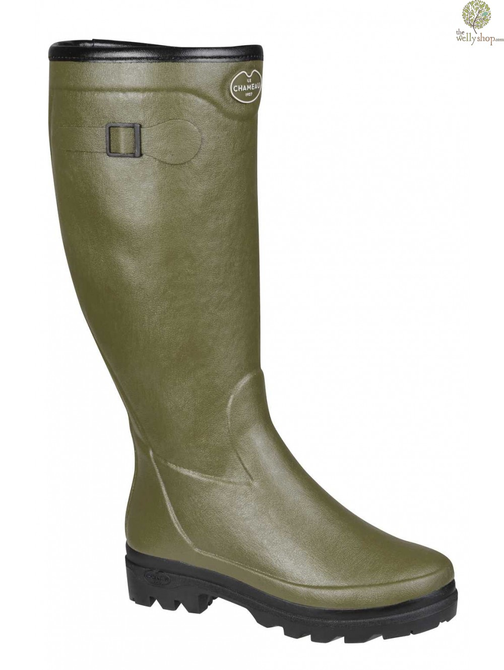 Le Chameau Country Lady Fouree Wool Lined Wellington Boots