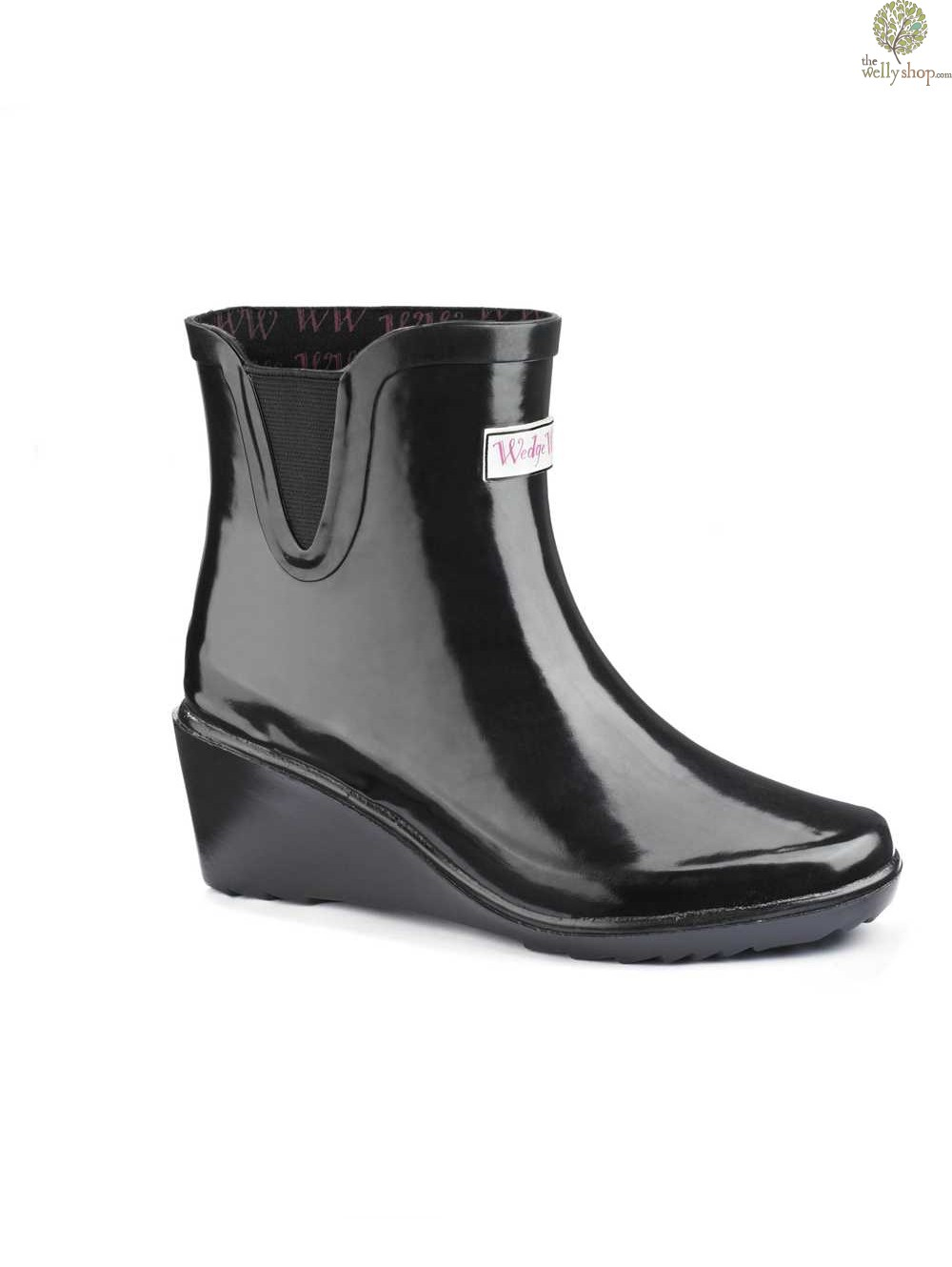 87fb02ba7f8 Wedge Welly Legend Chelsea Ankle Boots