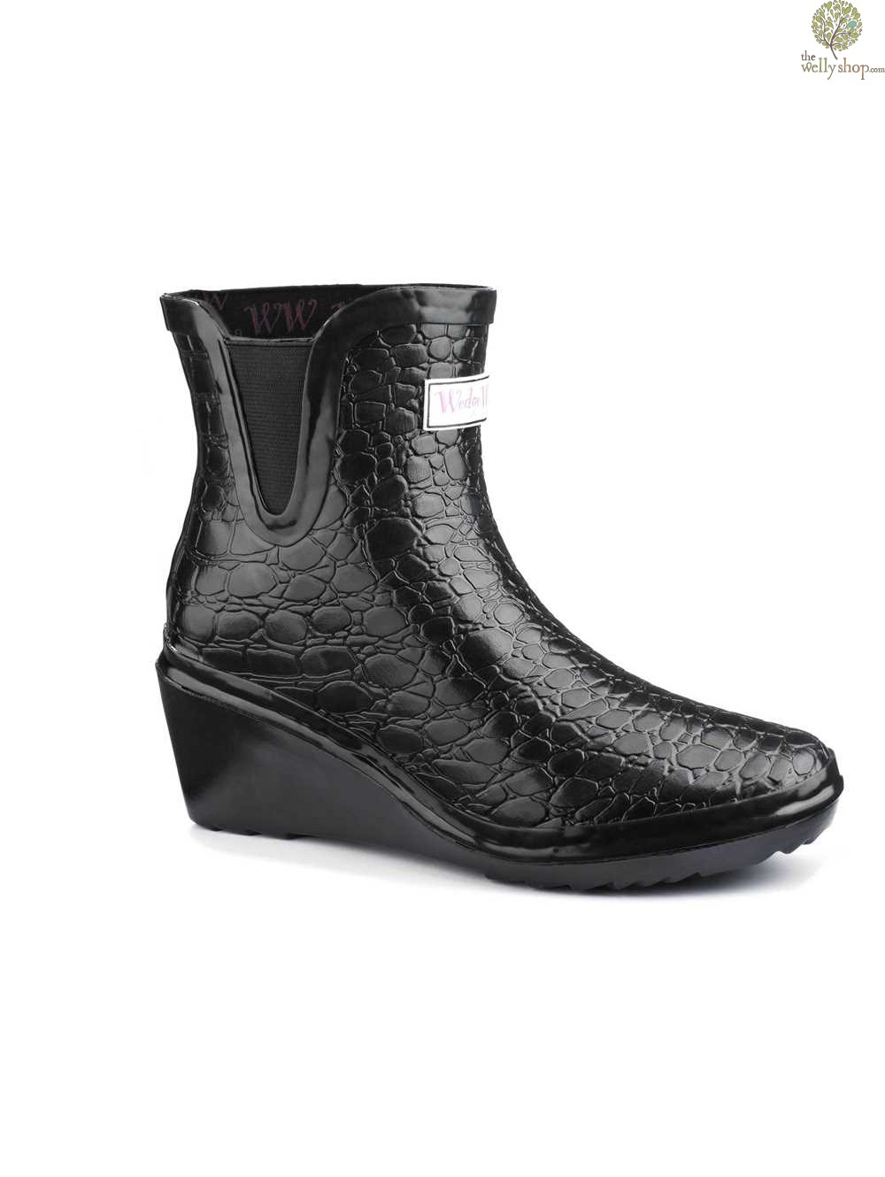 f357d43d095 Wedge Welly Man Eater Chelsea Ankle Boots