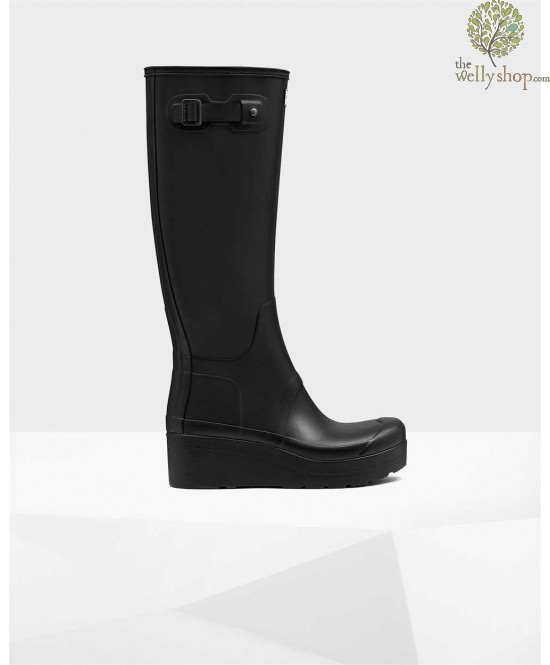 Hunter Women S Original Tall Slim Wellington Boots Low