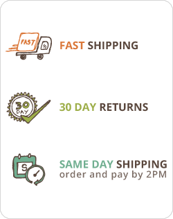 Fast Shipping 30 Day Returns Same Day Despatch